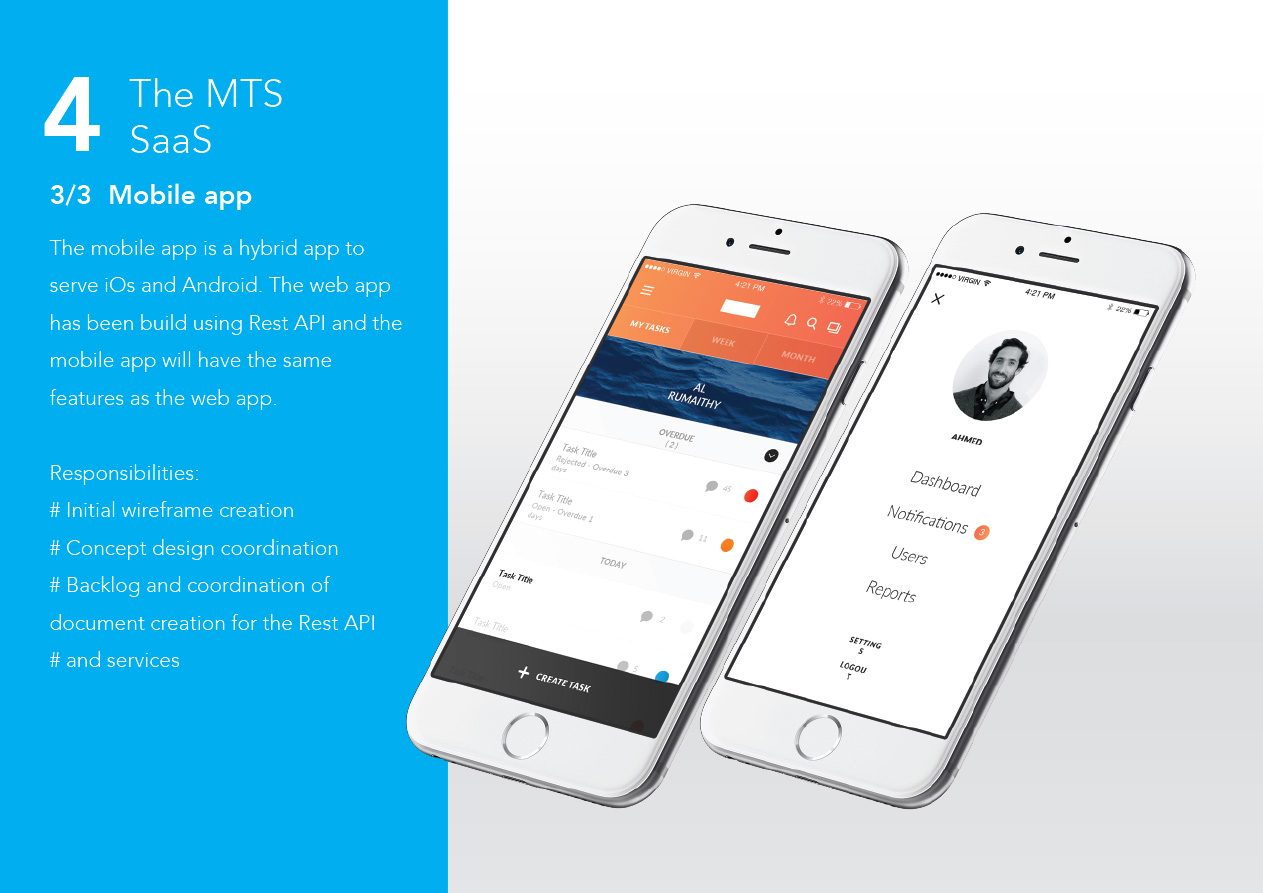 The MTS - Promotional website